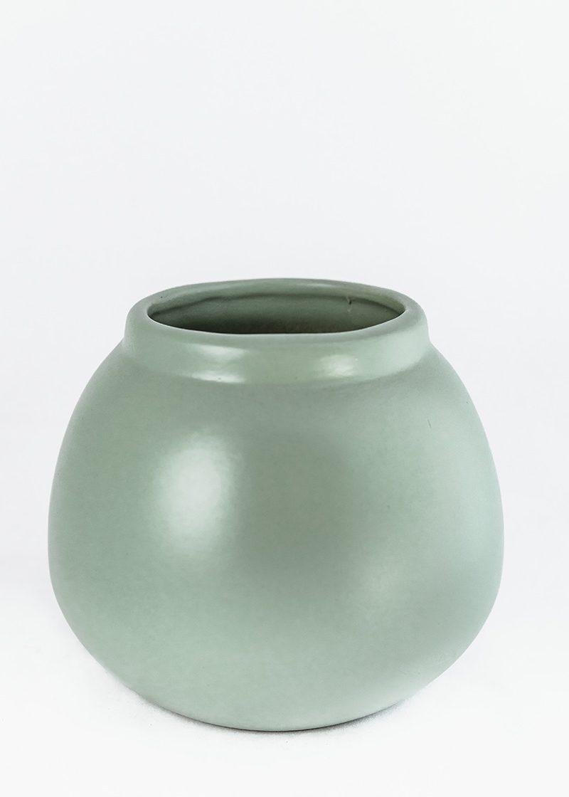 Sage Calabash Vase