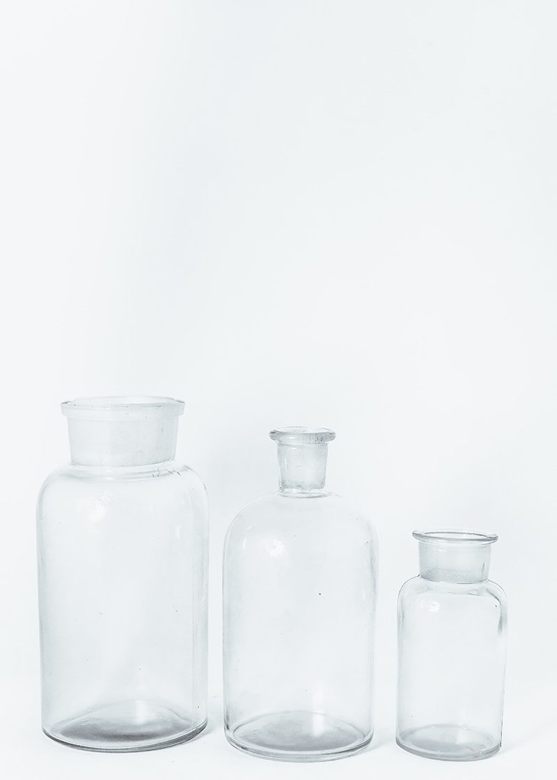 Selection Of LAB Bottles