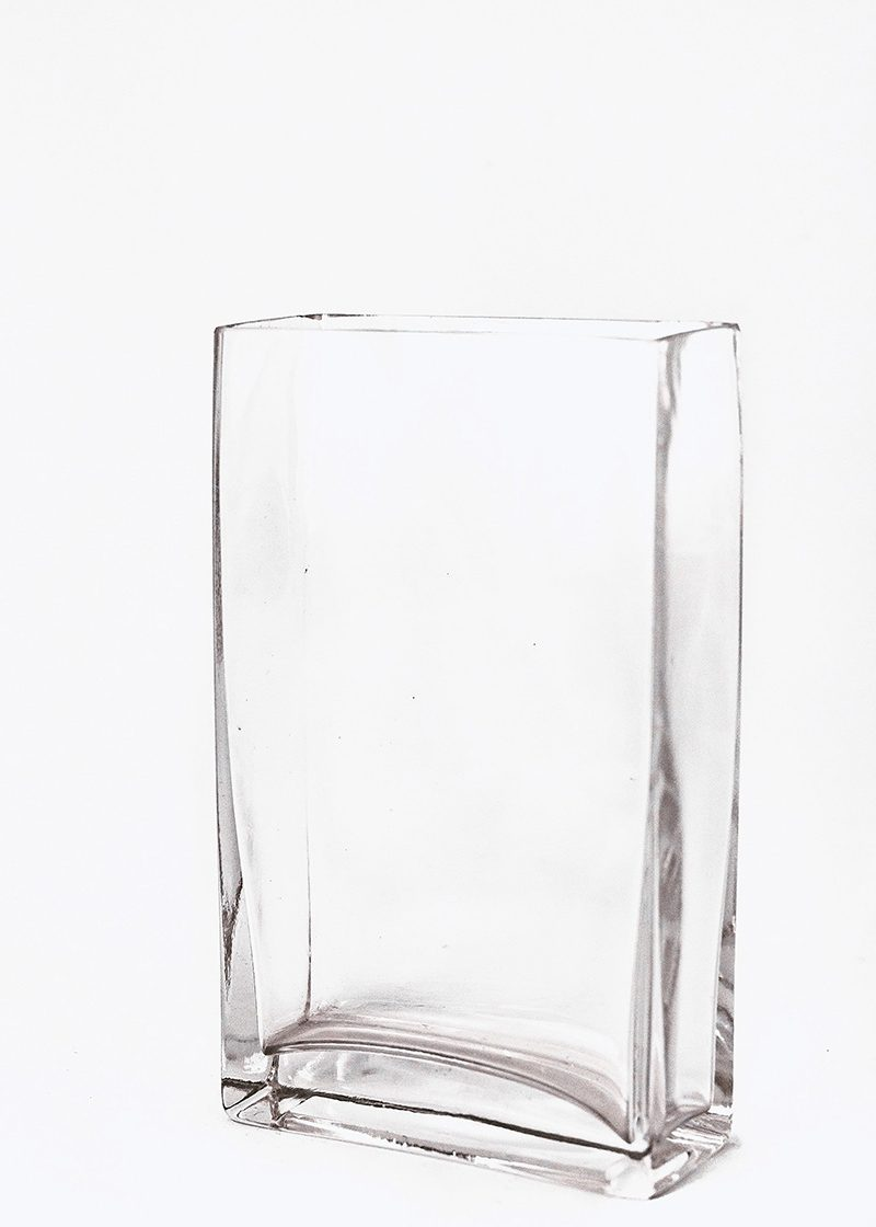 Tall Rectangular Vase