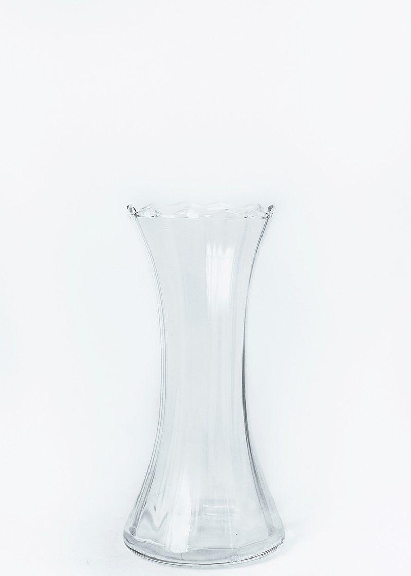 Flare Ribbed Vase