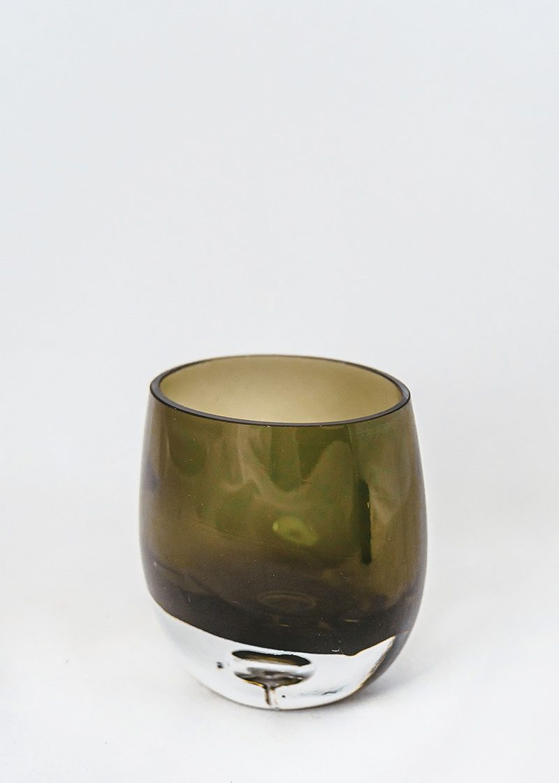 Smoky Black Vase
