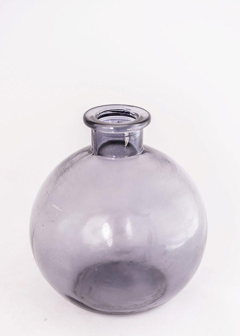Grey Ball Vase