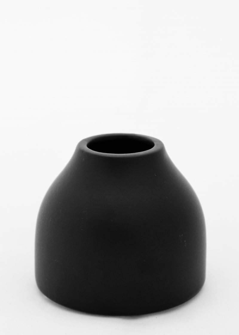 Black Belly Vase
