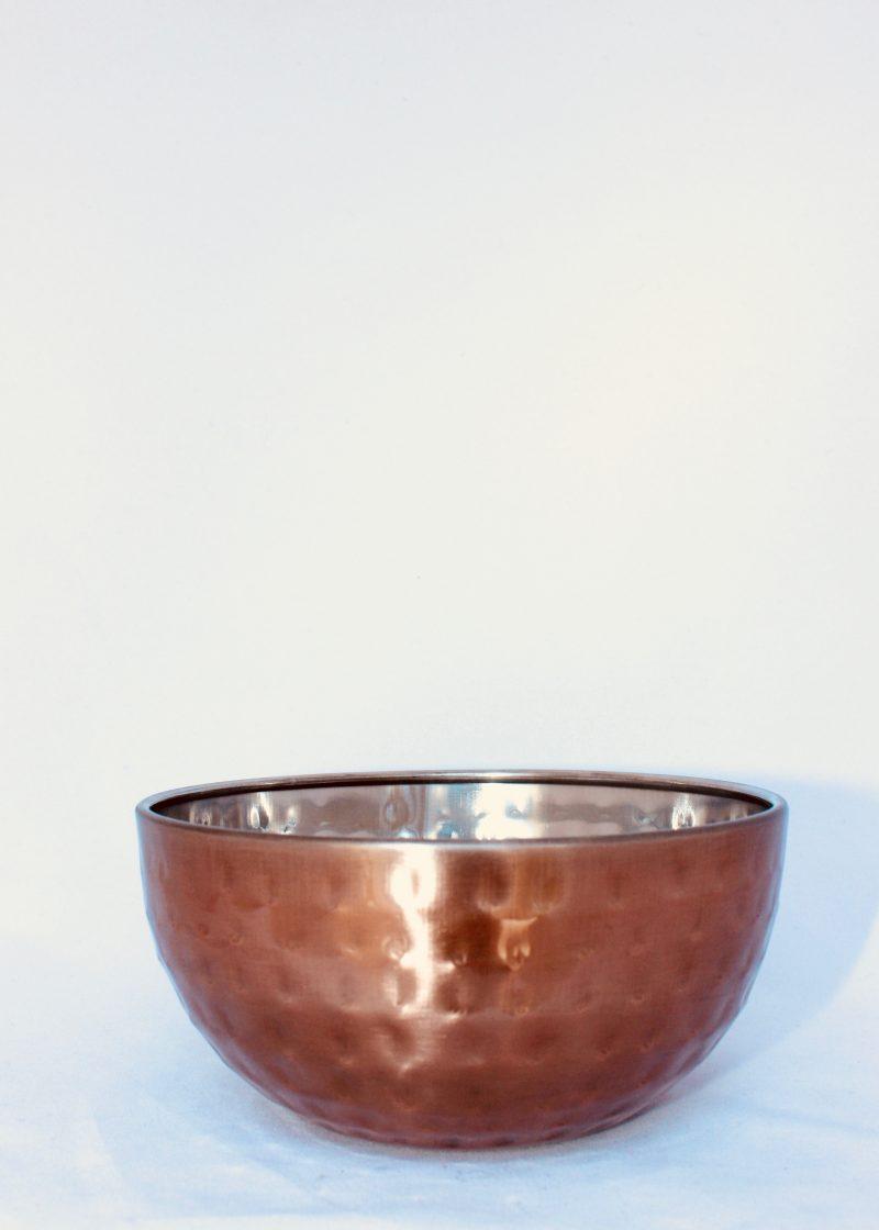 Copper Dimple Bowl