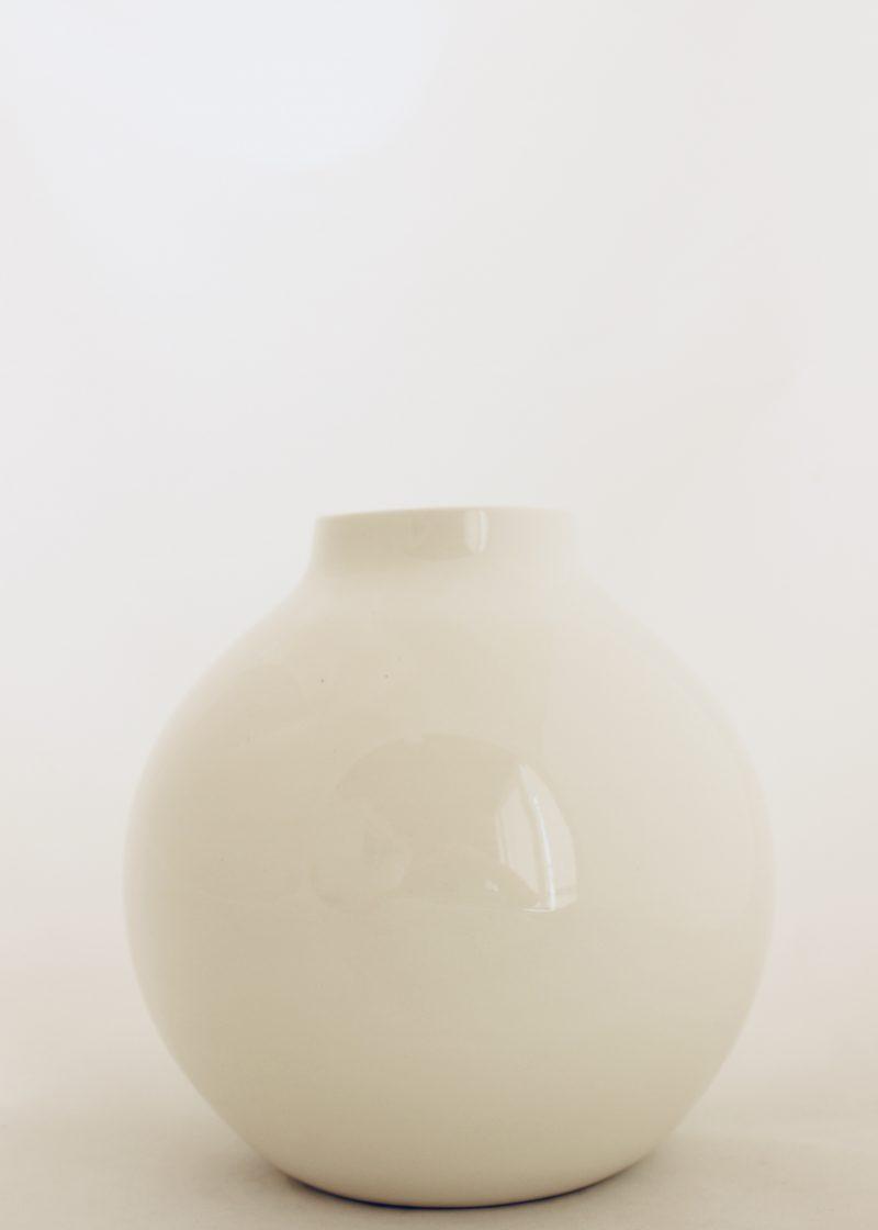 Cream Mod Vase