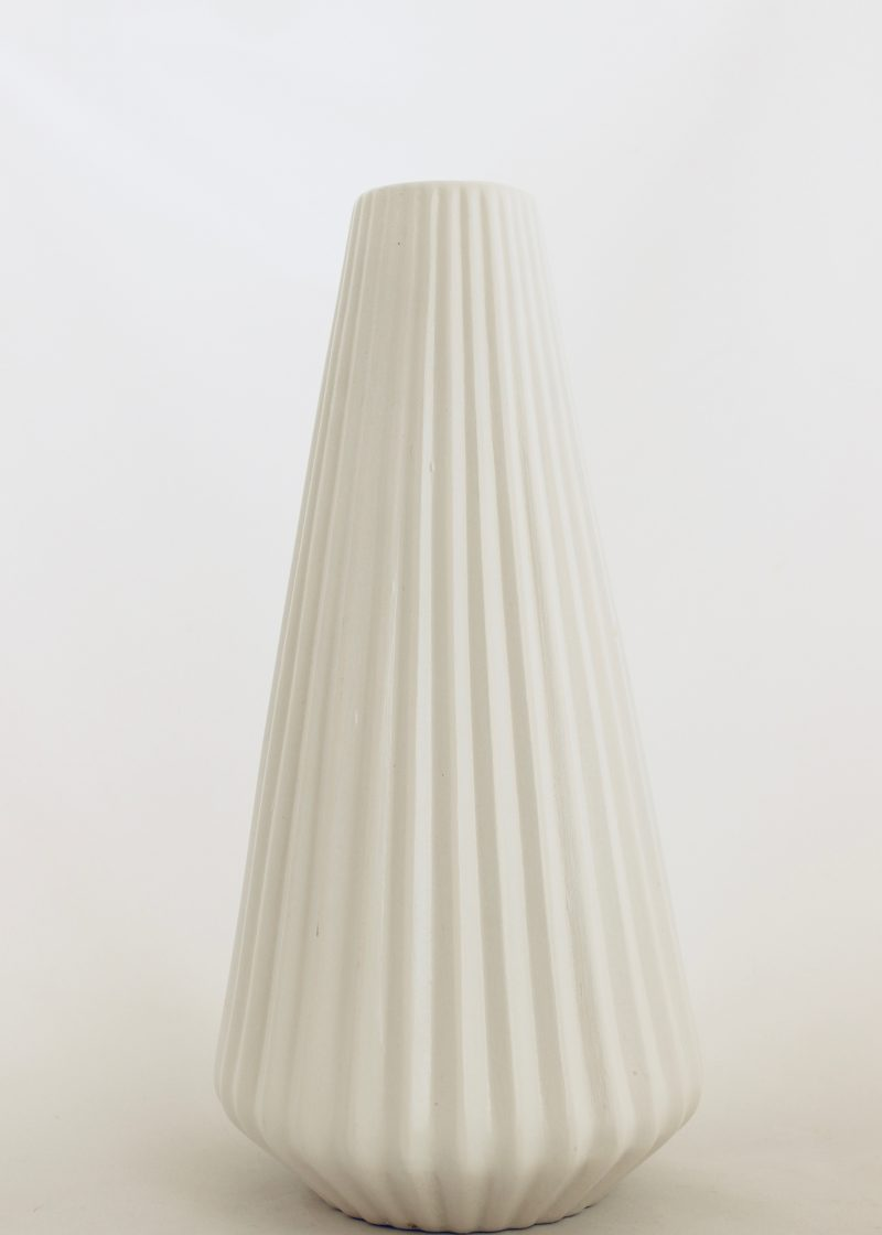 White Empire Vase